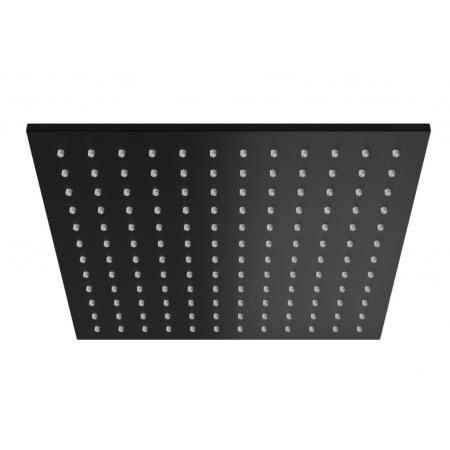 Kohlman Experience Black Deszczownica kwadratowa 30x30 cm, czarny mat Q30EB