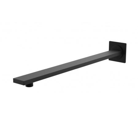 Kohlman Experience Black Ramię prysznicowe 38 cm ścienne, czarny mat WQEB