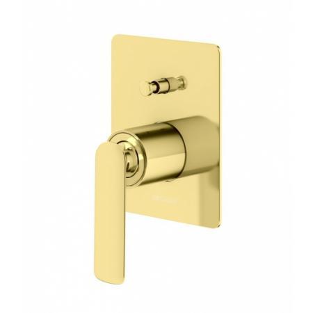 Kohlman Experience Gold Bateria wannowo-prysznicowa podtynkowa złota QW210EGD
