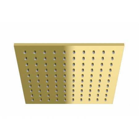 Kohlman Experience Gold Deszczownica kwadratowa 25x25 cm złota Q25EGD