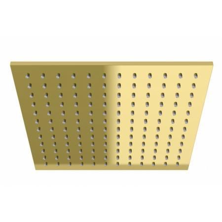 Kohlman Experience Gold Deszczownica kwadratowa 30x30 cm złota Q30EGD
