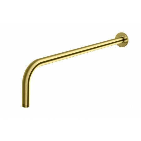 Kohlman Experience Gold Ramię prysznicowe ścienne 40 cm złote WNEGD