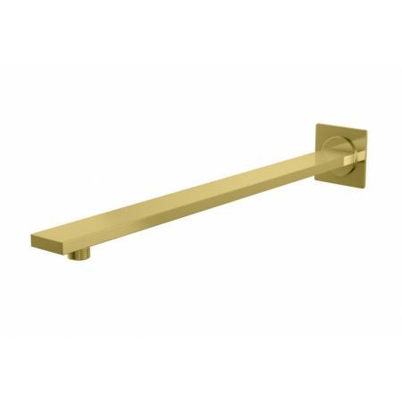 Kohlman Experience Gold Ramię prysznicowe ścienne 38 cm złote WQEGD