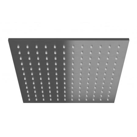 Kohlman Experience Gray Deszczownica kwadratowa 30x30 cm, szczotkowany grafit Q30EG