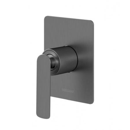 Kohlman Experience Gray Jednouchwytowa bateria prysznicowa podtynkowa, szczotkowany grafit QW220EG