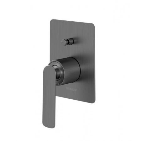 Kohlman Experience Gray Jednouchwytowa bateria wannowa podtynkowa, szczotkowany grafit QW210EG