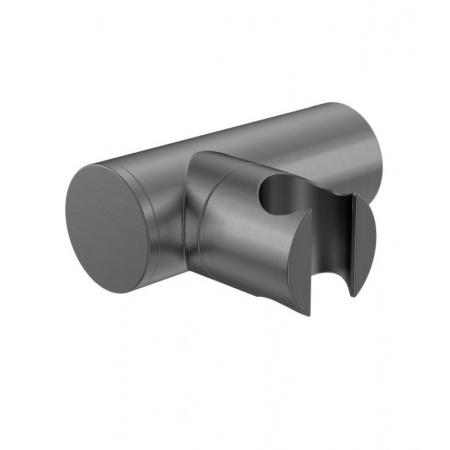 Kohlman Experience Gray Uchwyt prysznicowy, szczotkowany grafit QW004EG