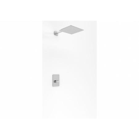 Kohlman Lexis Zestaw prysznicowy podtynkowy z deszczownicą 25 cm chrom QW220LQ25