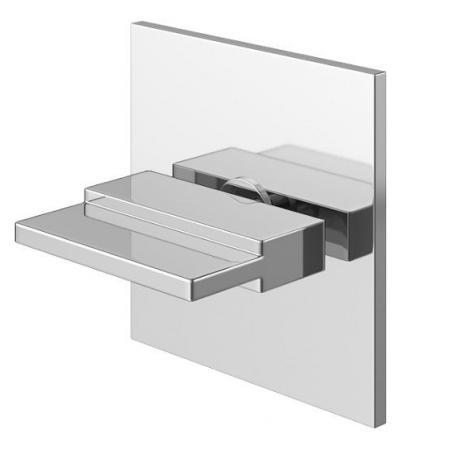 Kohlman Przełącznik 3-drożny podtynkowy chrom QW0033