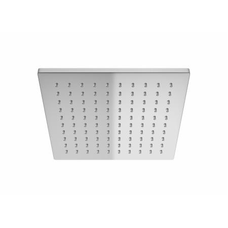 Kohlman Q20 Deszczownica kwadratowa 20x20 cm z ramieniem sufitowym, chrom Q20 + CQ
