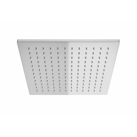 Kohlman Q25 Deszczownica kwadratowa 25x25 cm z ramieniem ściennym 40 cm, chrom Q25+WQ