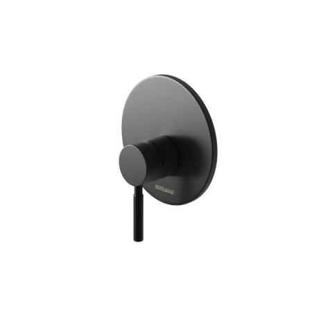 Kohlman Roxin Black Bateria prysznicowa podtynkowa czarny mat QW220RB