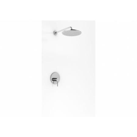 Kohlman Roxin Zestaw prysznicowy podtynkowy z deszczownicą 40 cm chrom QW220RR40