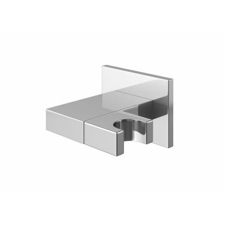 Kohlman Uchwyt ścienny słuchawki kwadratowy, chrom QW004
