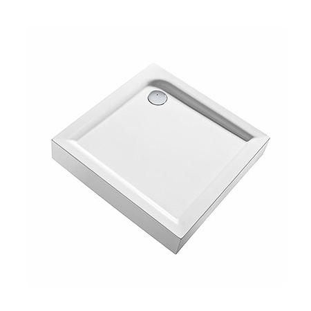 Koło First Brodzik prostokątny 80x80x16,5 cm, biały XBK1680000