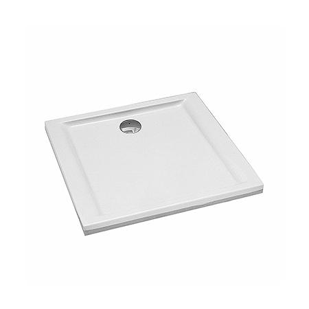 Koło Pacyfik Brodzik prostokątny 100x100x3 cm z powłoką AntiSlide, biały XBK0710101