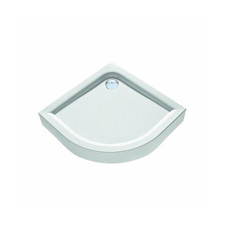 Koło First Brodzik półokrągły 90x90x16,5 cm, biały XBN1690000