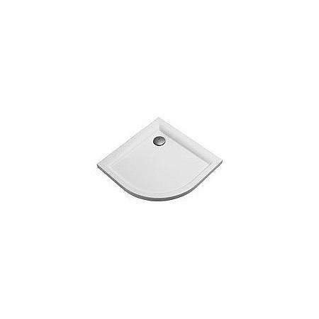 Koło Pacyfik Brodzik półokrągły 90x90x5 cm, biały XBN0790000