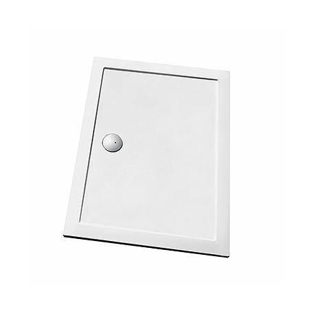 Koło Terra Bradzik prostokątny 140x90x3 cm, biały XBP1749000