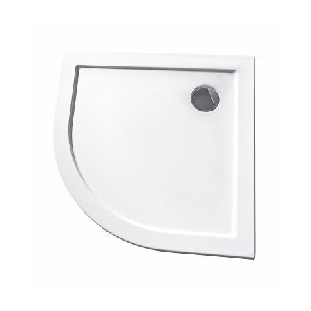 Koło Terra Brodzik półokrągły 90x90x3 cm, biały XBN1790000