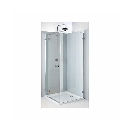 Koło Next Drzwi prysznicowe 90x195 cm z powłoką Reflex lewe, profile srebrne szkło przezroczyste HDSF90222003L