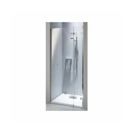 Koło Next Drzwi prysznicowe 80x195 cm z powłoką Reflex prawe, profile srebrne szkło przezroczyste HDRF80222003R
