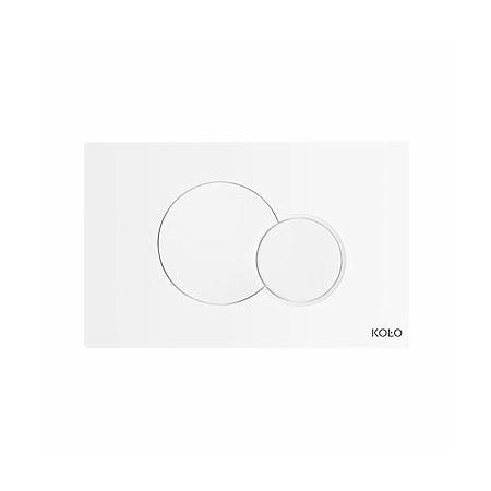 Koło Eclipse 2 Przycisk spłukujący do stelaży Technic GT, biały 94150001