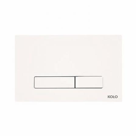 Koło Elegant Przycisk spłukujący do stelaża Technic GT do WC, biały 94151001