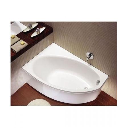 Koło Elipso Wanna narożna 160x100 cm lewa z nogami SN7, biała XWA0661000
