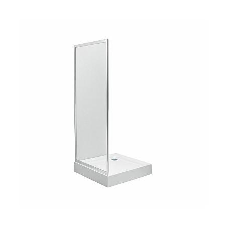 Koło First Ścianka prysznicowa boczna 80x190 cm, profile srebrne szkło przezroczyste ZSKX80222003
