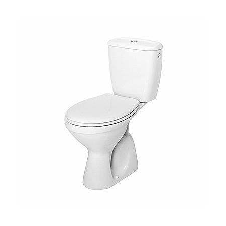 Koło Idol Toaleta WC kompaktowa 38x63x76,5 cm ze spłuczką i deską sedesową odpływ pionowy, biała 19036