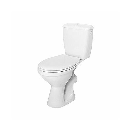 Koło Idol Toaleta WC kompaktowa 38x63x76,5 cm ze spłuczką i deską sedesową odpływ poziomy, biała 19035