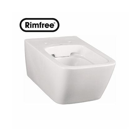 Koło Life Toaleta WC podwieszana 35x54x33 cm lejowa Rimfree, biała M23120