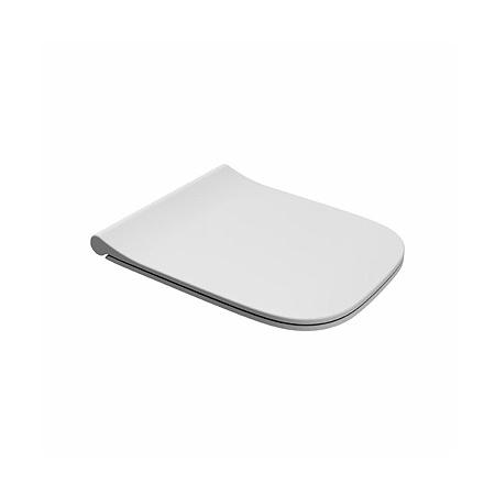 Koło Modo Deska sedesowa zwykła duroplast antybakteryjna Slim, biała L30114