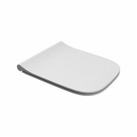 Koło Modo Deska wolnoopadająca Click2Clean antybakteryjna Slim Duroplast biała L30116000