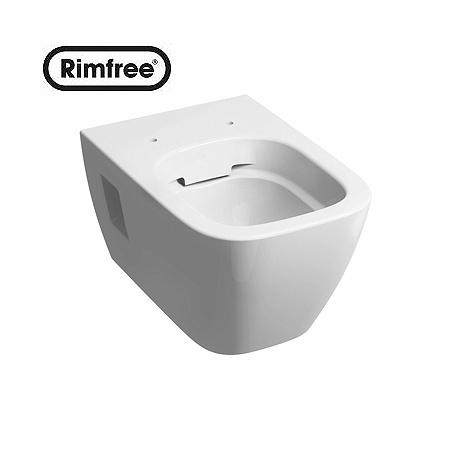 Koło Modo Toaleta WC podwieszana 35x54x30 cm lejowa Rimfree z powłoką Refleks, biała L33120900