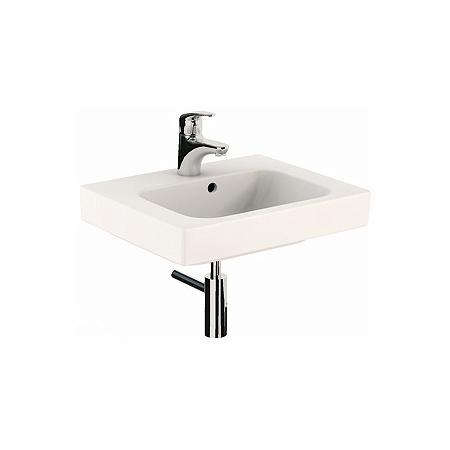 Koło Modo Umywalka wisząca lub nablatowa 50x40x15,5 cm z otworem na baterię, biała L31950000