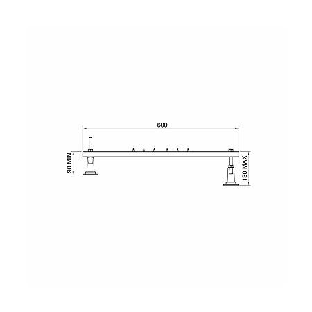 Koło Standard Plus Zestaw montażowy do brodzików, SN5