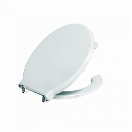 Koło Nova Pro Bez Barier Deska sedesowa antybakteryjna dla niepełnosprawnych, biała M30119000