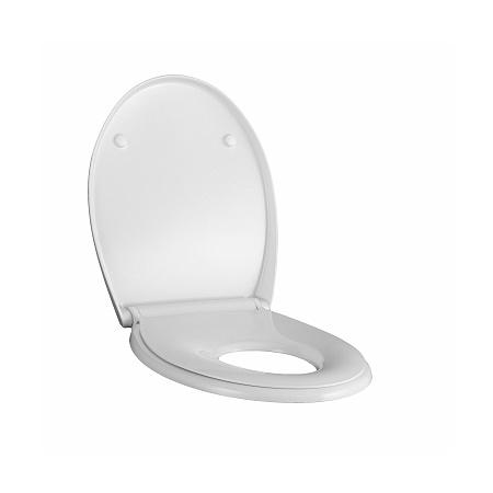Koło Nova Pro Deska sedesowa wolnoopadająca duroplast z siedziskiem dla dzieci, biała K90118