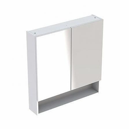 Koło Nova Pro Premium Szafka ścienna z lustrem 58,8x17,5x85 cm biały połysk 501.347.00.1