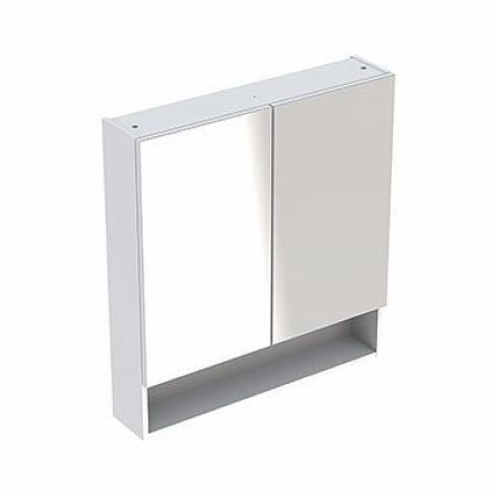 Koło Nova Pro Premium Szafka ścienna z lustrem 78,8x17,5x85 cm biały połysk 501.351.00.1