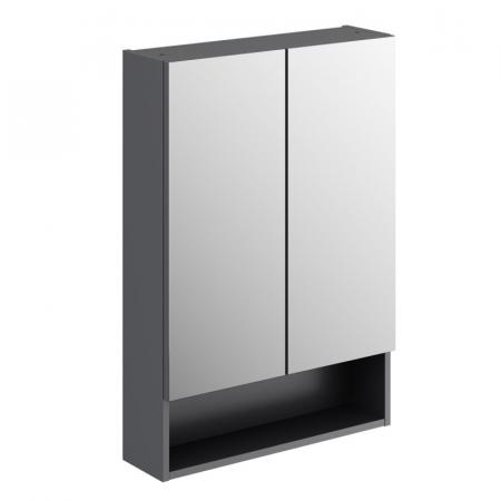 Koło Nova Pro Premium Szafka z lustrem 58,5x85 cm lava mat 501.348.00.1