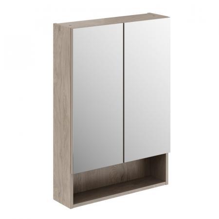 Koło Nova Pro Premium Szafka z lustrem 58,5x85 cm orzech włoski 501.349.00.1