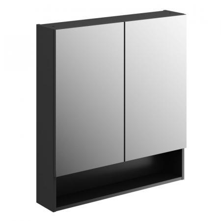 Koło Nova Pro Premium Szafka z lustrem 78,8x85 cm lava mat 501.352.00.1