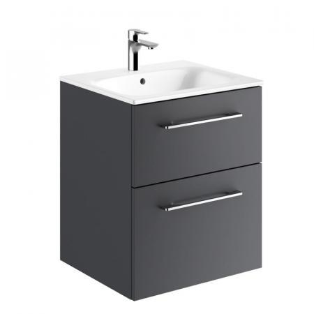 Koło Nova Pro Premium Umywalka z szafką 55x50,2 cm lava mat 501.316.00.1