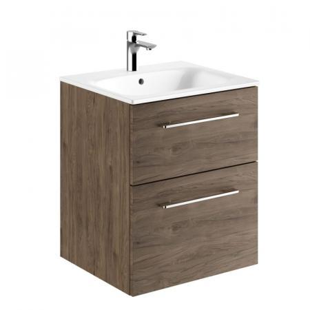 Koło Nova Pro Premium Umywalka z szafką 55x50,2 cm orzech włoski 501.317.00.1