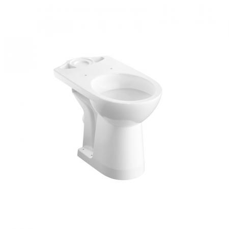 Koło Nova Pro Toaleta WC stojąca 65,5x35,5 cm kompaktowa bez kołnierza biała M33227000