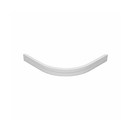 Koło Pacyfik Obudowa do brodzika półokrągłego 80x10 cm, biała PBN0480000