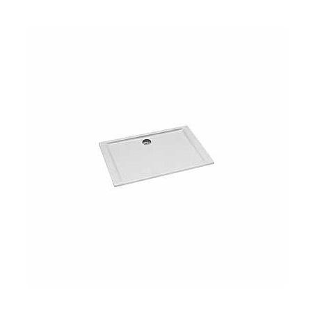 Koło Pacyfik Brodzik prostokątny 120x80x3 cm z powłoką AntiSlide, biały XBP0780101
